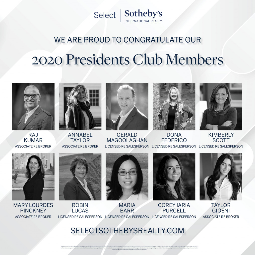 Presidents Club Social Media 2020