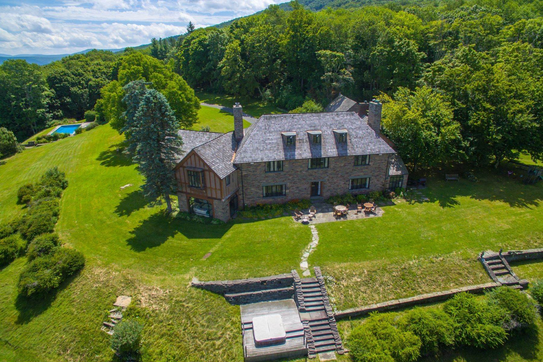 2. Single Family Homes for Sale at Sul Monte Mansion on Belleayre Mountain 352 Galli Curci Road, County Route 49A Highmount, New York 12441 United States