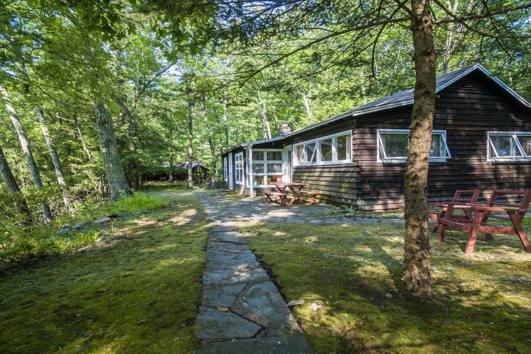 18. Single Family Homes for Sale at Panoramic Views of the Catskill High Peaks 14 Honk Lake Road N Napanoch, New York 12458 United States