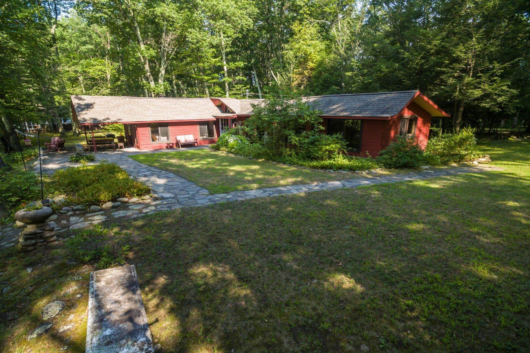 8. Single Family Homes for Sale at Panoramic Views of the Catskill High Peaks 14 Honk Lake Road N Napanoch, New York 12458 United States