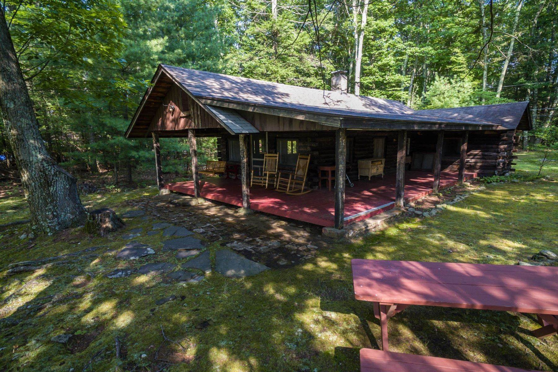 26. Single Family Homes for Sale at Panoramic Views of the Catskill High Peaks 14 Honk Lake Road N Napanoch, New York 12458 United States