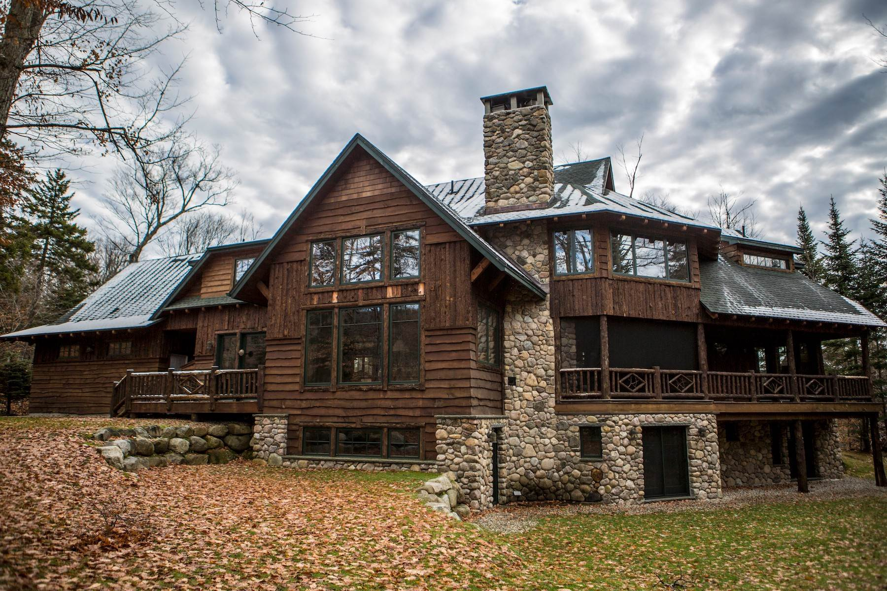 2. Single Family Homes for Sale at Adirondack Grand Lodge 3 Peters Way Lake Placid, New York 12946 United States
