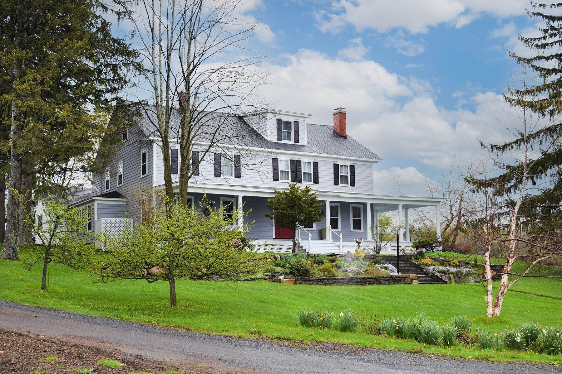 Single Family Homes for Sale at Historic Cherry Valley Cottage 242 Campbell Road Cherry Valley, New York 13320 United States