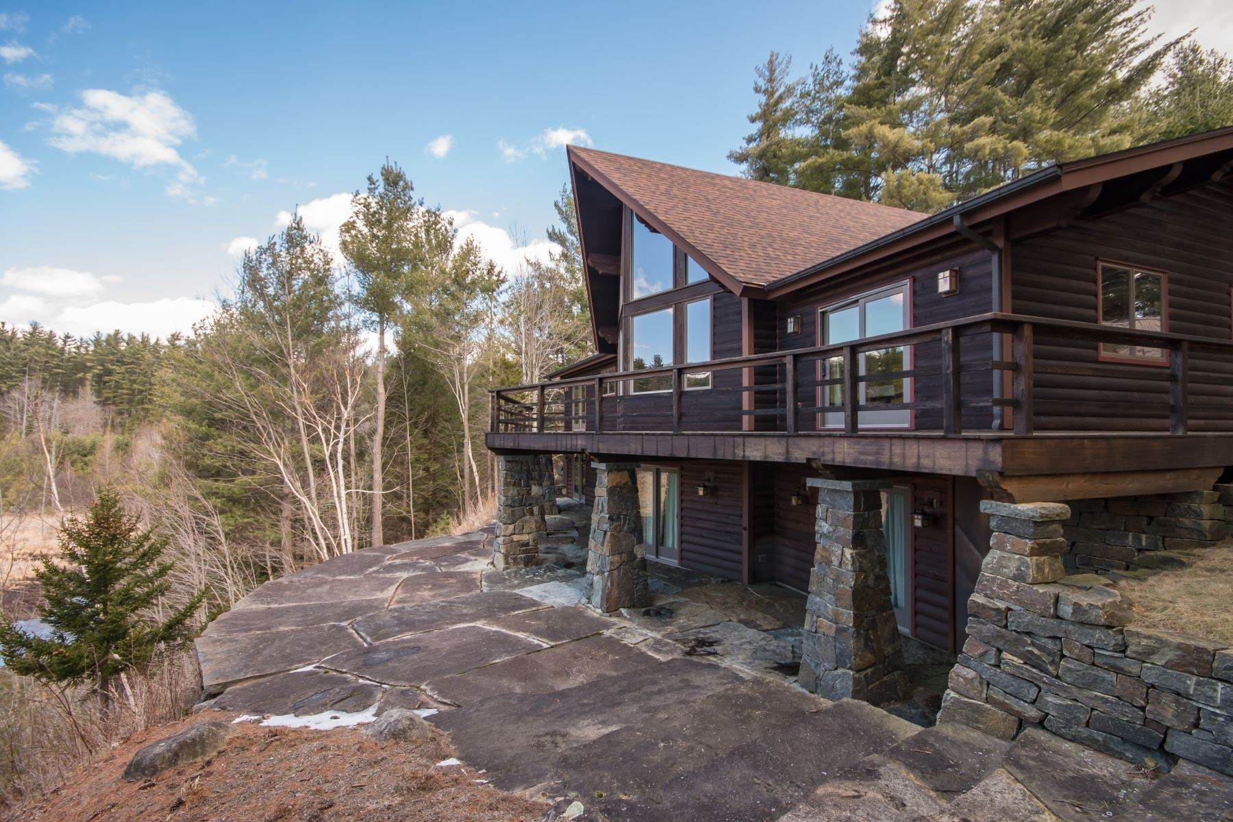 Single Family Homes for Sale at Adirondack Retreat 1749 Haselton Road Wilmington, New York 12997 United States