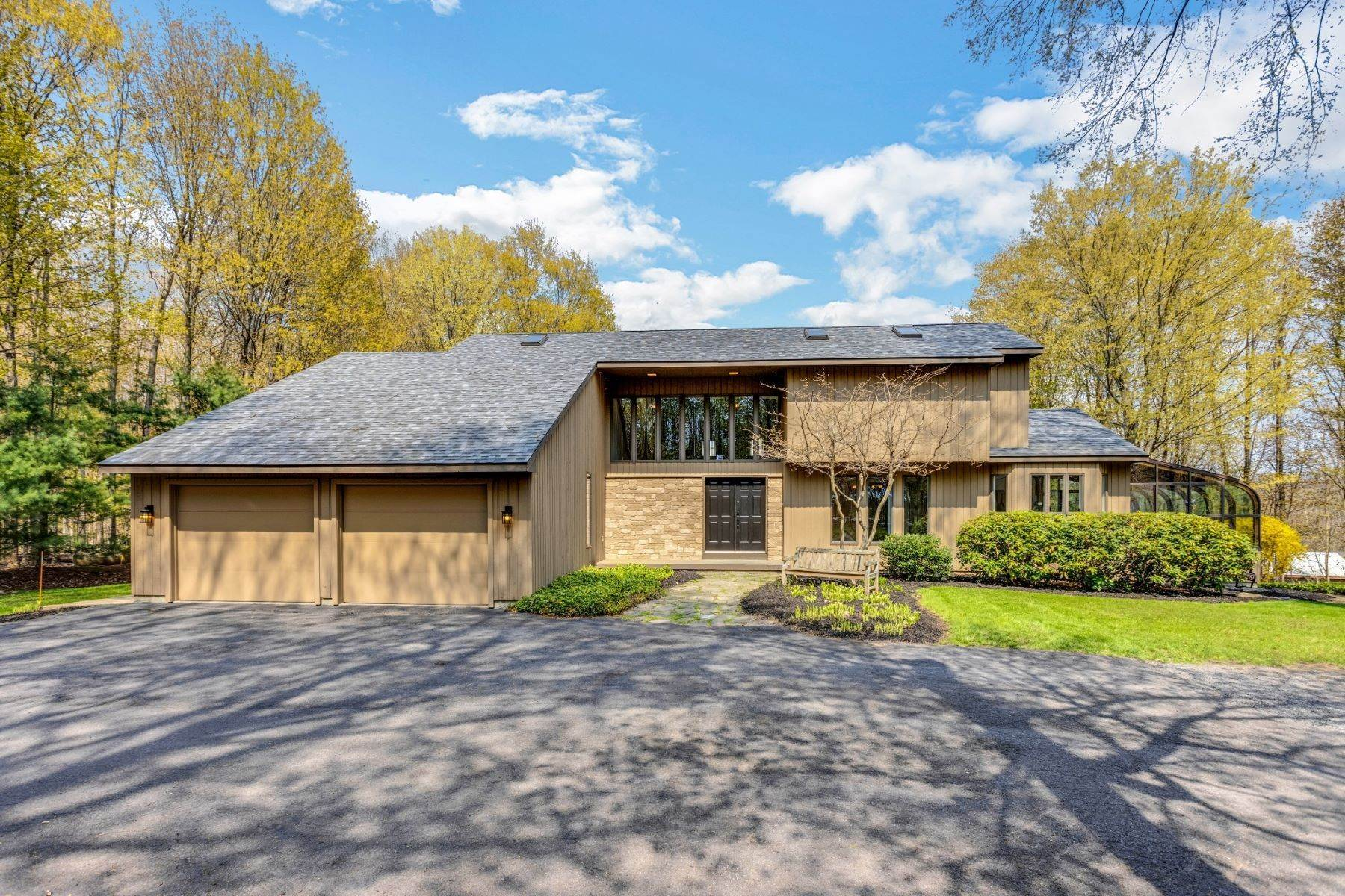 Other Residential Homes for Sale at Updated Contemporary: Peaceful Country Living 372 Middle Road Oswego, New York 13126 United States