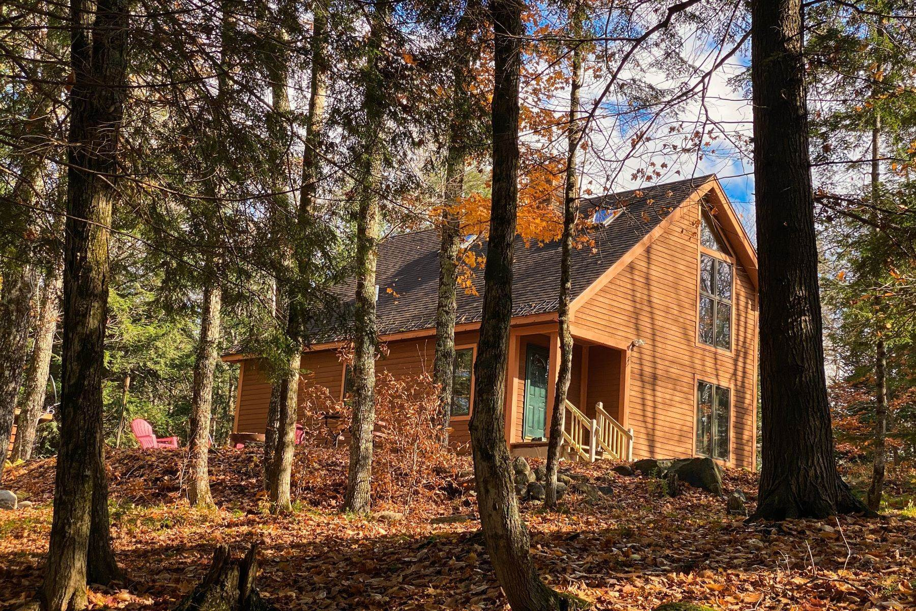 Single Family Homes στις Cozy Secluded Cabin Near Gore Mountain & 13th Lake 120 Harvey Road Johnsburg, Νέα Υόρκη 12843 Ηνωμένες Πολιτείες