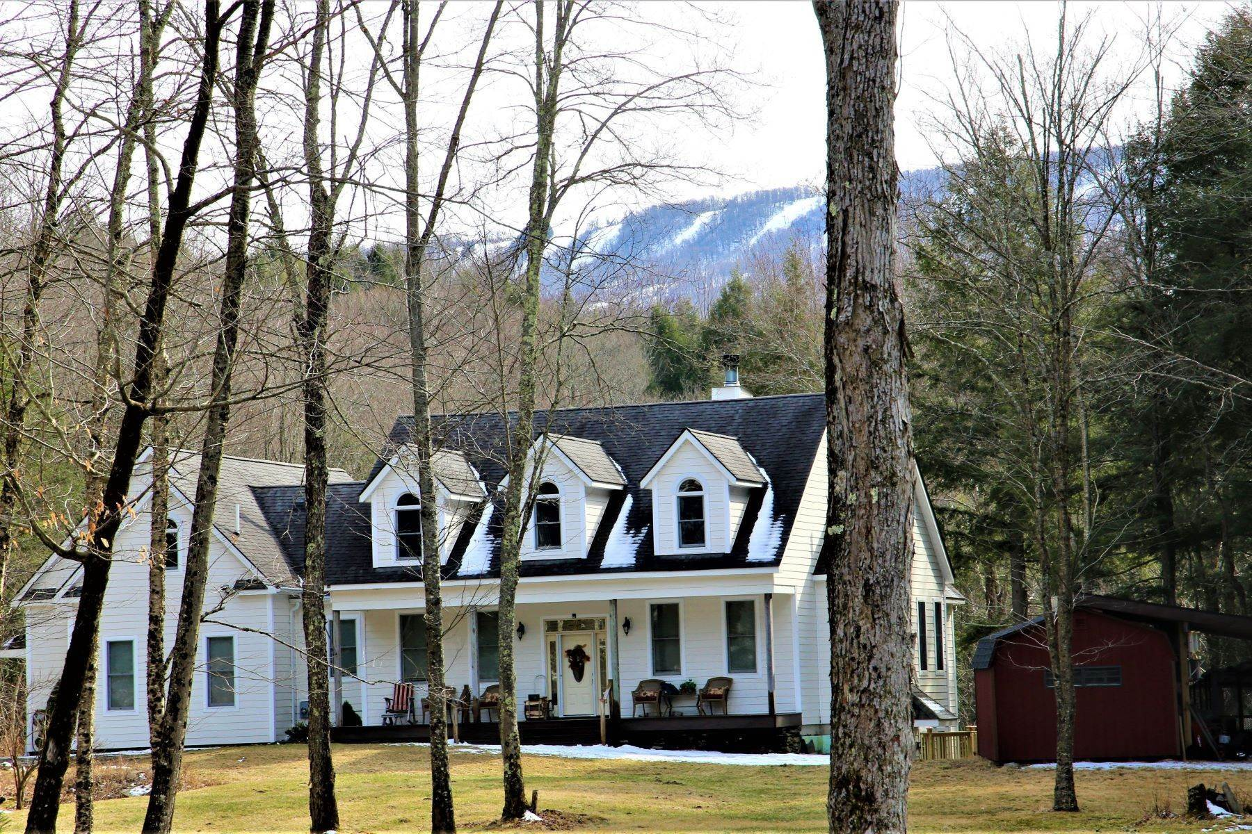 3. Multi-Family Homes for Sale at Hidden luxury in the forest near Belleayre Skiing 395 Roaring Brook Lane, Above the Owl's Nest in Highmount Highmount, New York 12441 United States