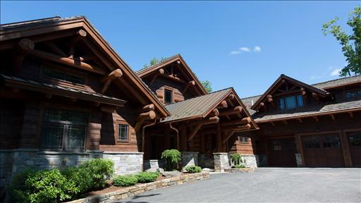 The luxury log cabin select sotheby 39 s international realty for Large luxury log homes